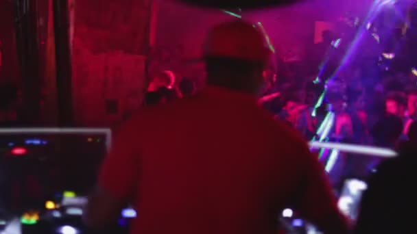 éjszakai disco party dj