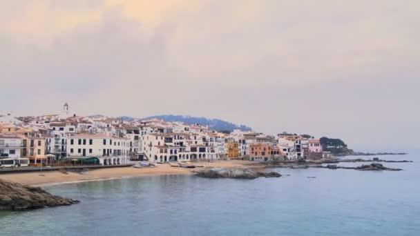 timelapse rybářské středomořské vesnice