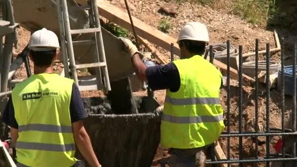 práce 08 lití betonu