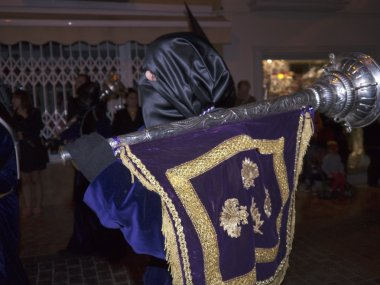 The Easter processions in Nerja on the Costa del Sol Andalucia Southern Spain