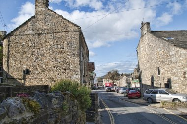 The village of Grassington in the Yorkshire Dales in England