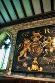 Kostel v linton poblíž grassington v severním Yorkshiru Anglie je oblast výjimečné přírodní krásy