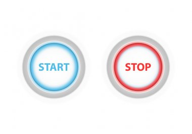 Start button and stop button