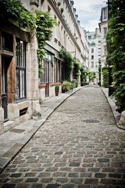 Street with cobbles