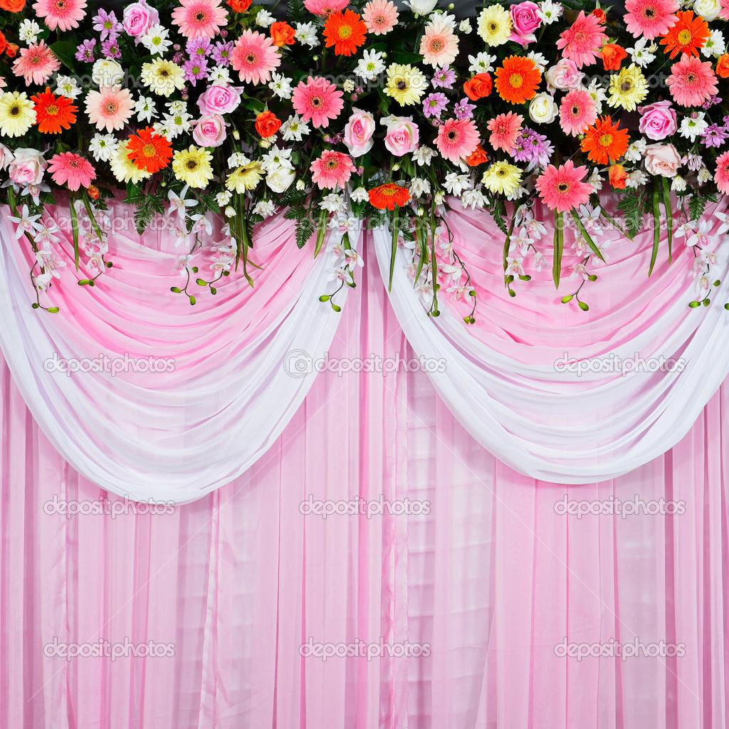 Красивый фон на свадьбу