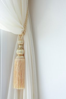 Curtains tassel for interior luxury house