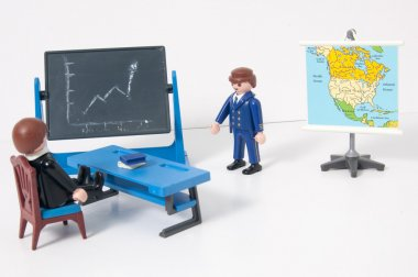 Playmobil business presentation