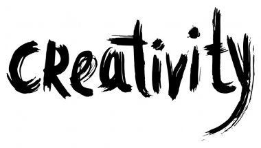 Creativity hand lettering