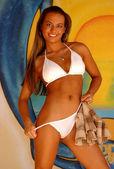 bellissima modella professionista a daytona beach