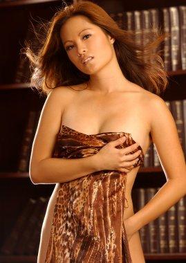 Beautiful Asian Brunette - Studio Shoot