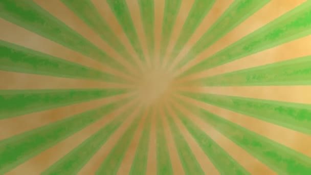 Loopable seamless retro background video - green