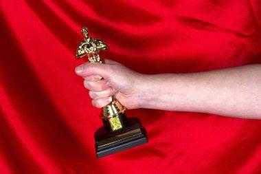 Grabbing an Oscar
