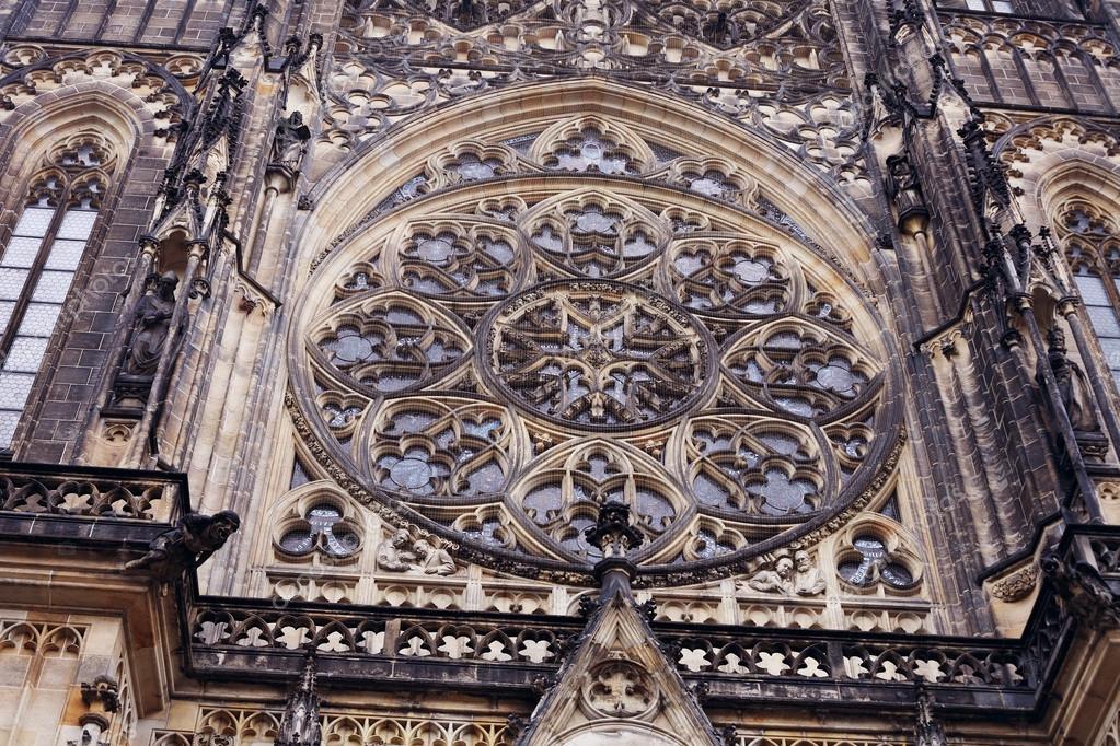 Neo antique fragment de b timent architecture gothique de for Architecture neo gothique