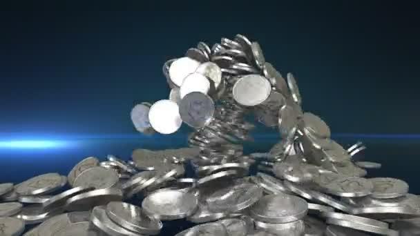 ezüst érmék és alfa-Matt