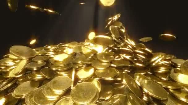 zpomalené mince klesá