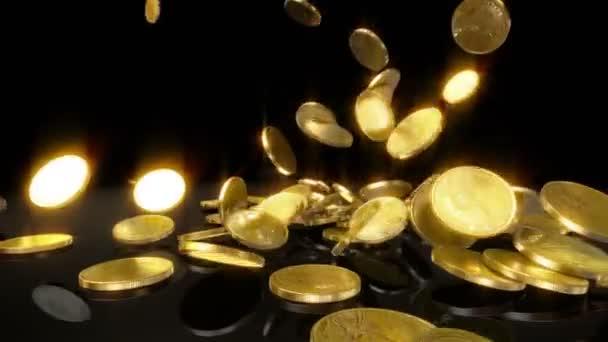 mince v pomalém pohybu