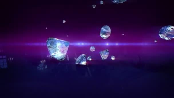 diamanty pádu