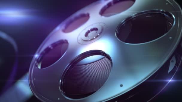 Film naviják loopable pozadí