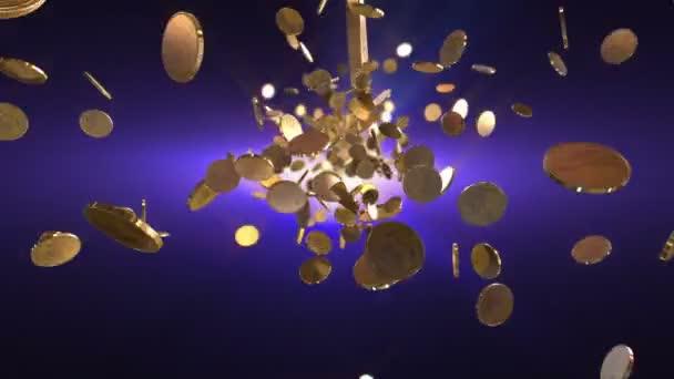 letu mince loopable pozadí