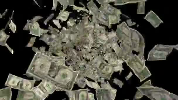 dolary a eura peníze s alfa