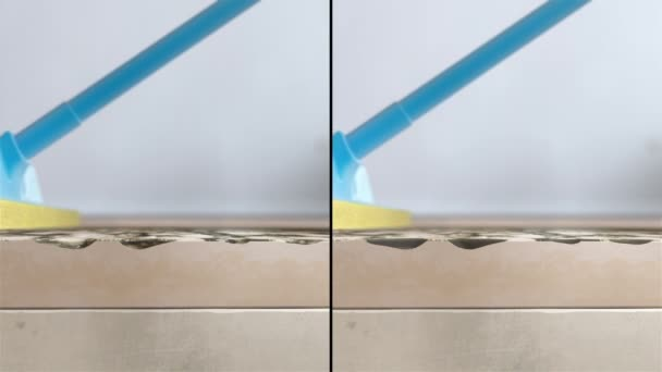Cleaning dirty floor Animation