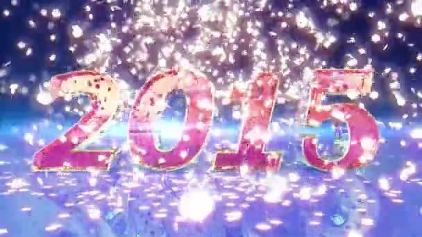 Nový rok 2015 animace