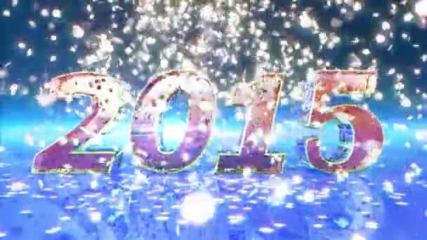 Neues Jahr 2015 Animation