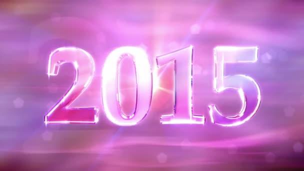Neues Jahr 2015 Hintergrundanimation