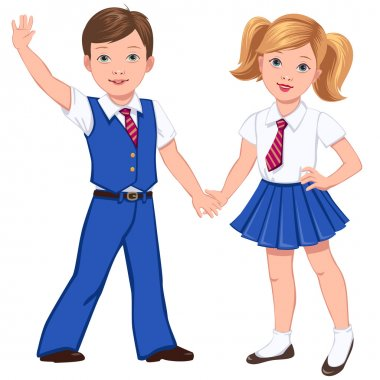 pupils in uniform