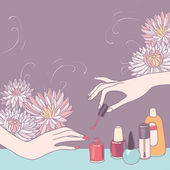 Photo Nail art salon