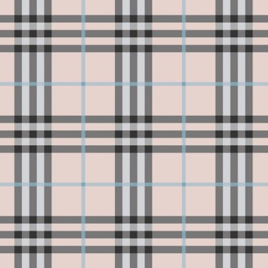 Modern and trendy seamless plaid pattern