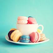 sladké a barevné francouzské makronky