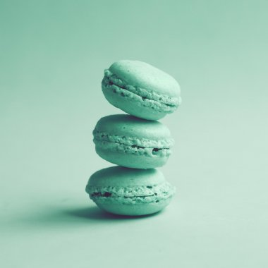 Stack of three Macaroons
