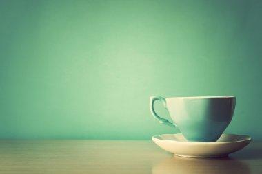 Vintage coffe cup
