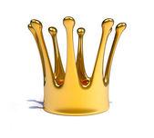A gold royal crown