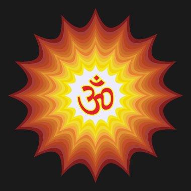 Spiritual Om Design