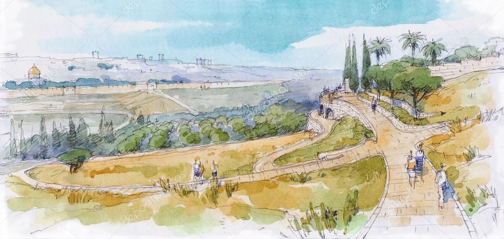 jerusalem landscape-3
