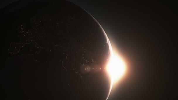 Earth sunrise