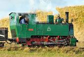 Stará parní vlak