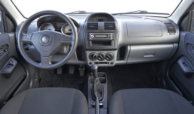 Used car interior