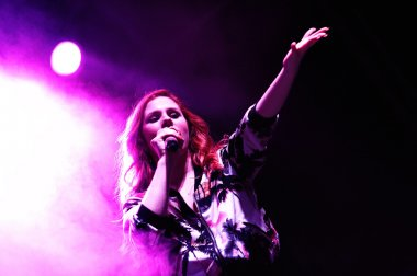 Katy B   performs