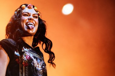 Jessie J during her performance