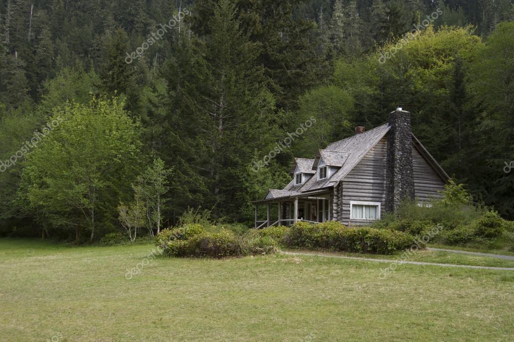 Old Mountainside Log Cabin