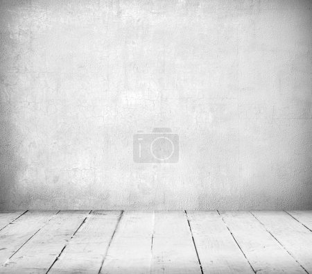 Photo for Interior, vintage background of stone wall and wooden floor - Royalty Free Image