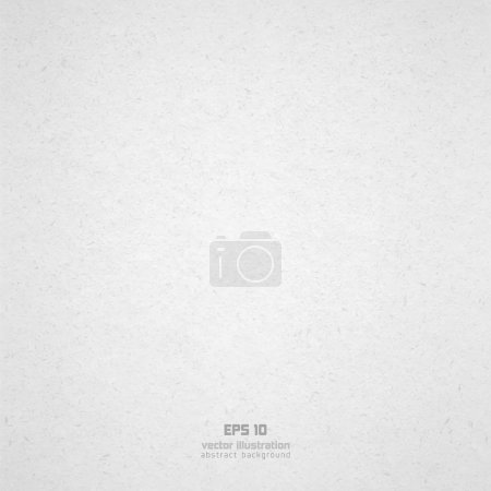 Illustration for Background from white paper texture. EPS 10 Vector illustration. - Royalty Free Image