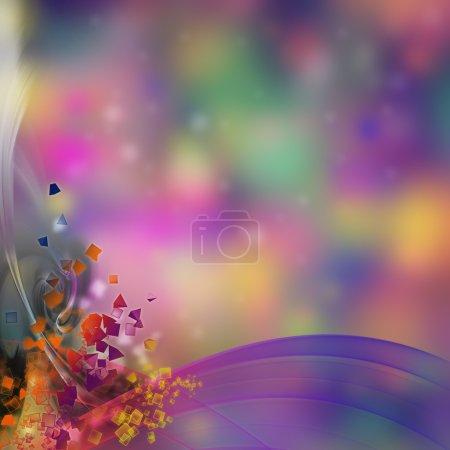 Photo pour Fête abstraite et fond de célébration pour votre design - image libre de droit