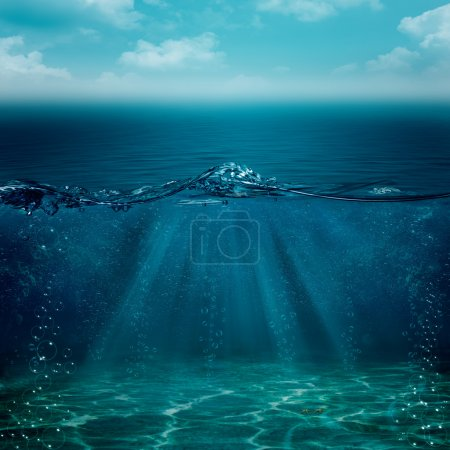 Abstract underwater backgrounds for your design