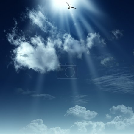 Photo for Way to heaven. Abstract spiritual backgrounds for your design - Royalty Free Image
