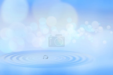 Photo for On the lake, abstract natural backgrounds for your design - Royalty Free Image