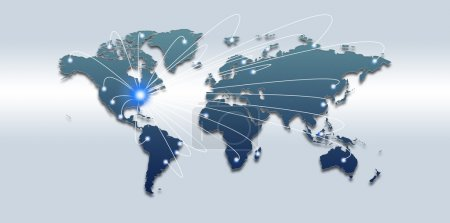 Global traffic and comminications concept, abstract backgrounds